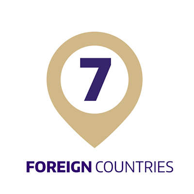 7 foreign countries